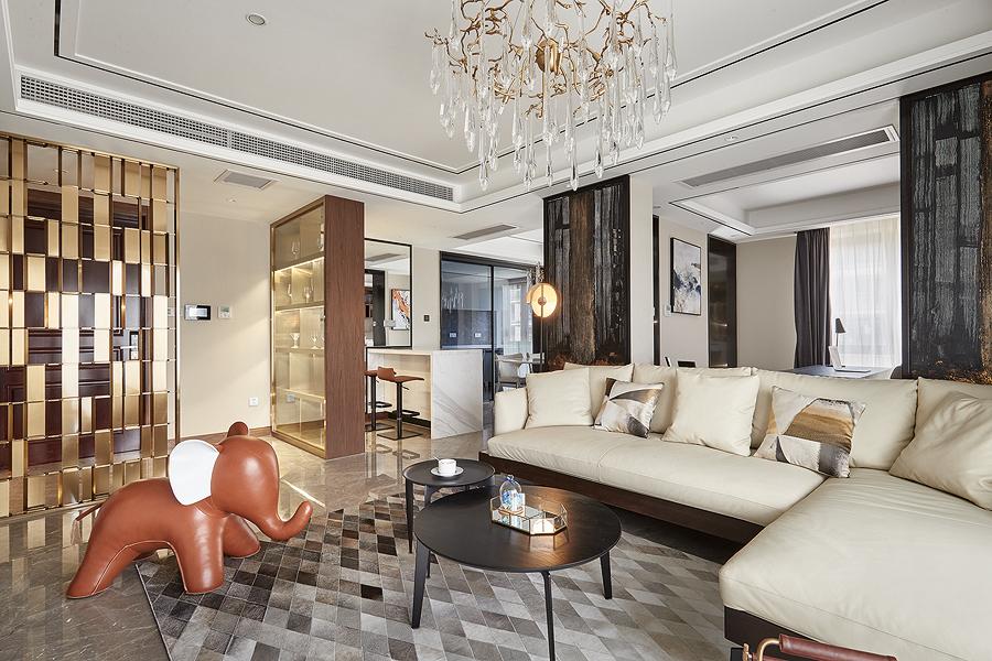 紫蘭公寓170㎡港式輕奢戶型分析