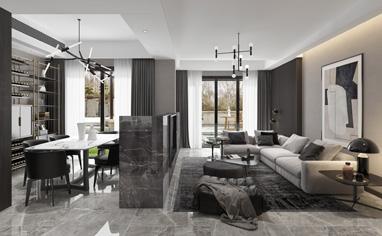 四庭墅300㎡现代风格