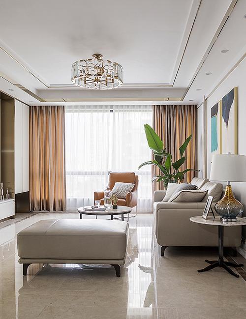 江南国际城126㎡现代风格