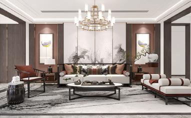 自建房800㎡新中式风格