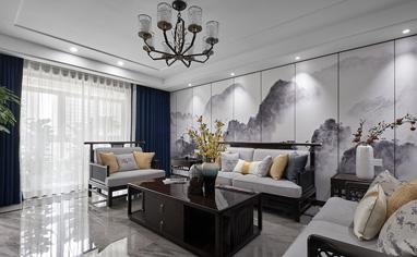 尚博苑190㎡新中式风格