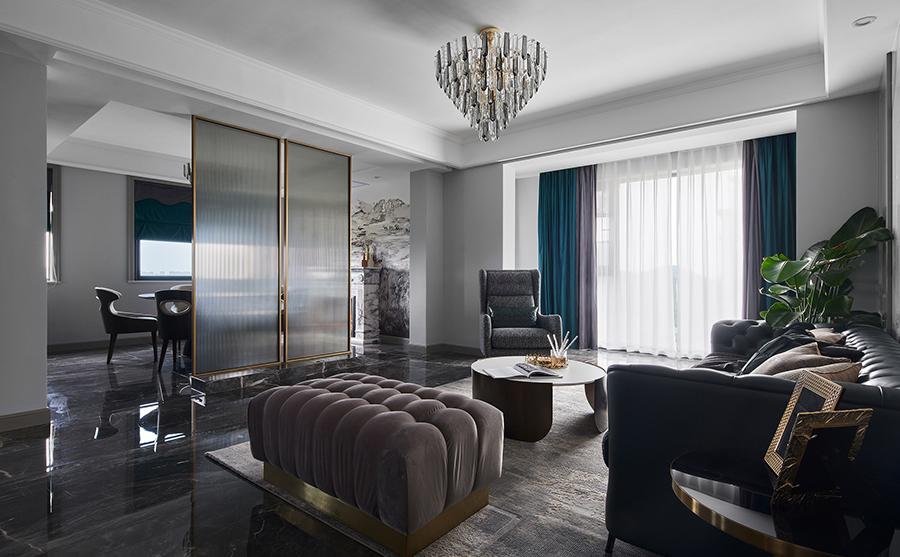 锦绣公寓140㎡现代轻奢风格