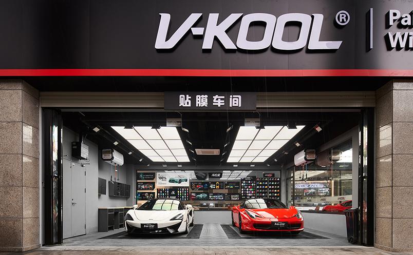 汽车洗美店1000㎡现代主义